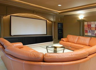 Theater Room Couch