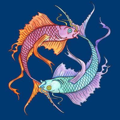 Pisces Zodiac Symbol Sign