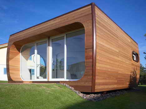 Minimalist House Design: Space-Saving House - HOME DESIGNS on l shaped house designs, hexagonal house designs, triangular house designs, round tree house designs, box house designs, dome house designs, rectangular house designs, pyramid house designs, pallet house designs, pump house designs, square house designs,
