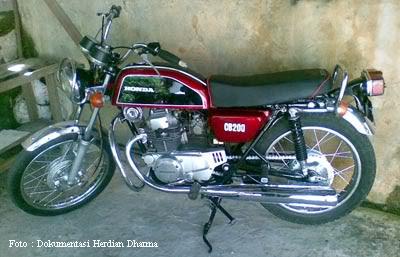 Honda Motorcycle on Honda Cb 200 1976  Classic Motorcycles