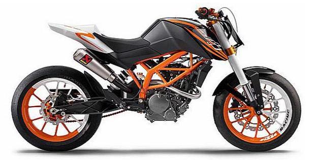 Best Motor Sport: Naked Street Bike From KTM 125 CC