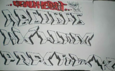 My Own Style Graffiti Alphabet Letters