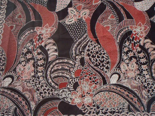 this is a contemporary motif batik fabric batik is now not only using ...