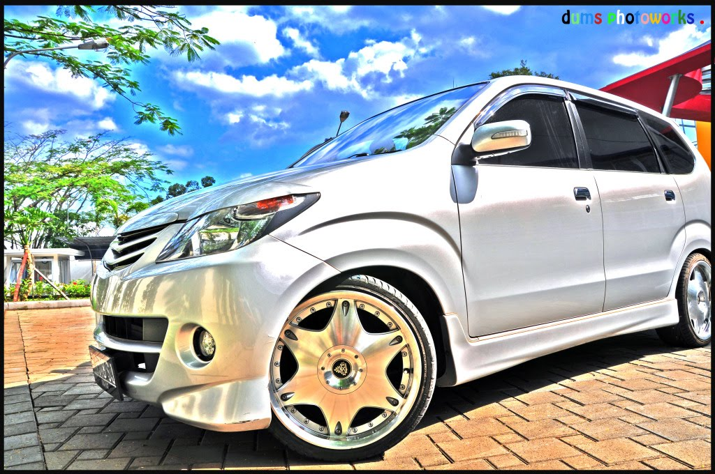 Modification Toyota Avanza With Wheels 18 quot;