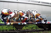 Home » Graffiti Trains » Graffiti Alphabet Poser: Graffiti Trains