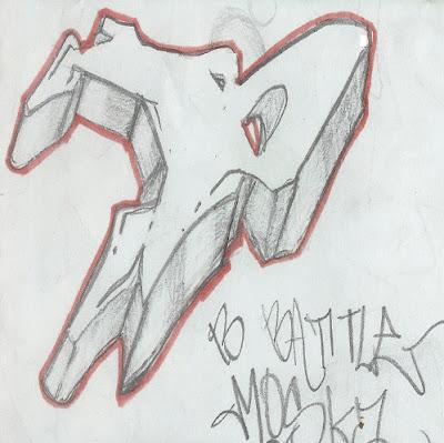 Graffiti Alphabet B