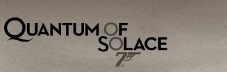 007 James Bond Quantum of solace
