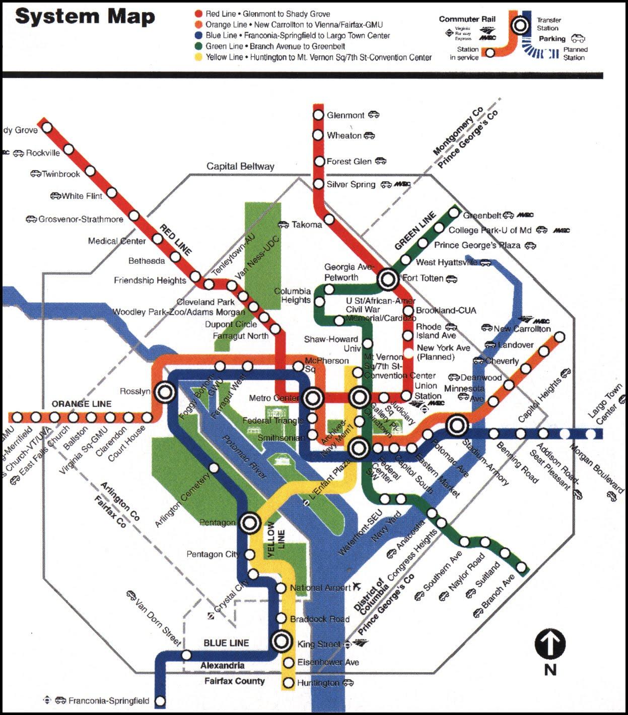 Metrorail Map