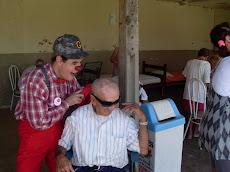 Projeto Palhaço Cidadão no Asilo de Novo Horizonte