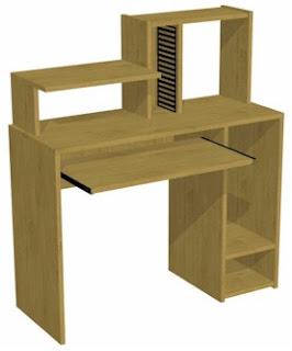 Trabajos y dise os en melamina muebles para pc for Muebles para pc