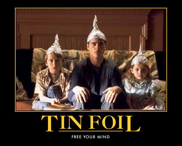 """Que faire d'un """"bib"""" vide ? Tin-foil-hat"""