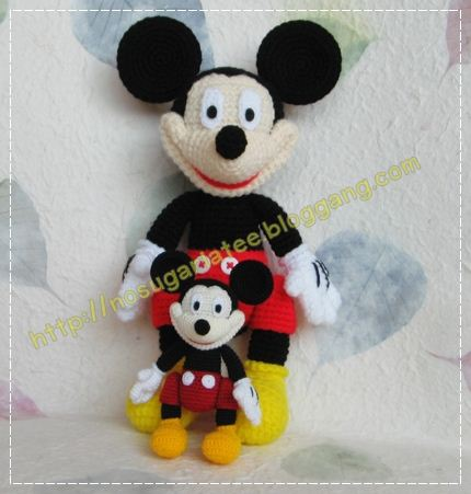 My Amigurumi Miniature Mickey Mouse