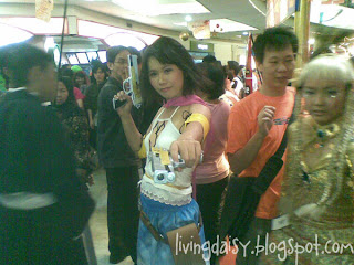 Animonster Sound 2010 cosplay Yuna FFX-2