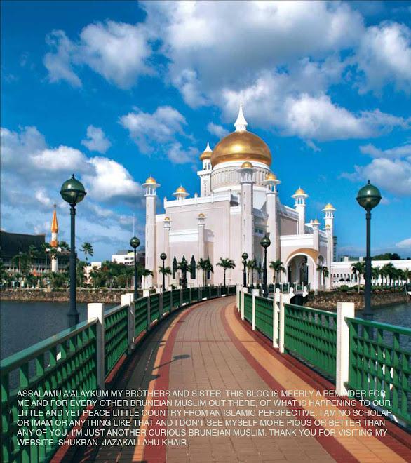 Curious Bruneian Muslim