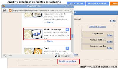 Google Analytics en Blogger - paso 4