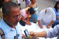 El director de la escuela Raymundo Francisco