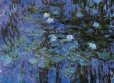 Nymphéas bleus (Oscar-Claude Monet)