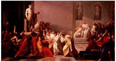 Morte de Césare (Vincenzo Camuccini)