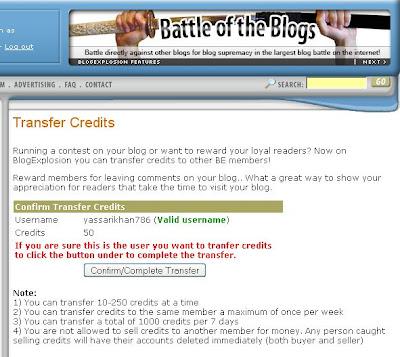 earn free BlogExplosion traffic