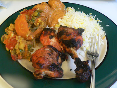 delicious tandoori chicken