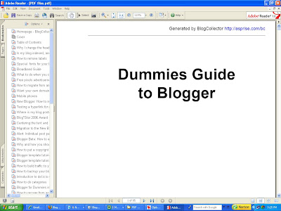 Blogger for Dummies PDF book