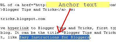 highlight anchor text
