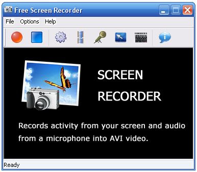 Free Screen Recorder GUI