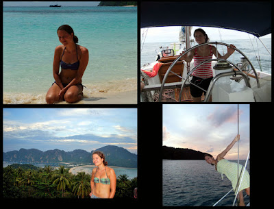 Crew sailing South East Asia