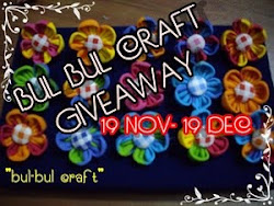 Bul Bul Craft Giveaway