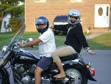Quieres un paseo en la motocicleta?