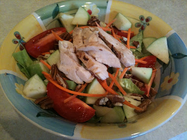 Chicken, Apple and Walnut Salad
