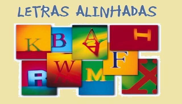 LETRAS ALINHADAS