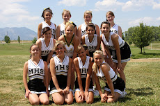 JV Cheerleaders End of Summer