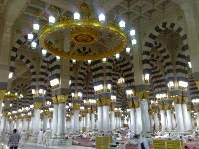 Pilar-Pilar Utama Masjid Nabawi
