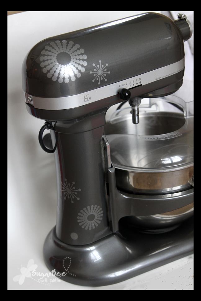 Kitchenaid Mixer Decals ~ Kitchen aid decal sugar bee crafts