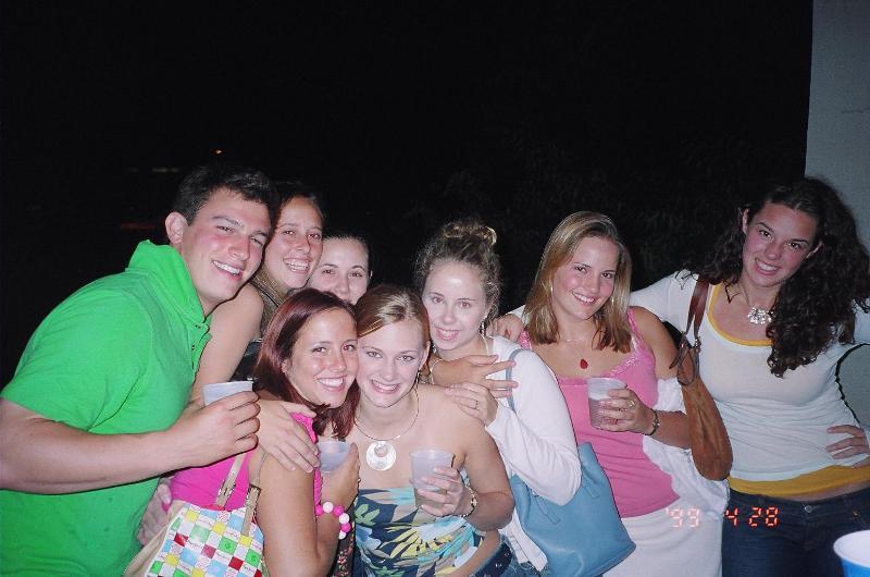 flashing College girls group