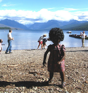 Cora at Lake McDonald