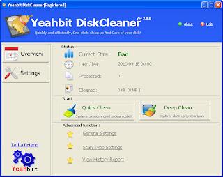 Yeahbit DiskCleaner v2 0 0 Full Keygen