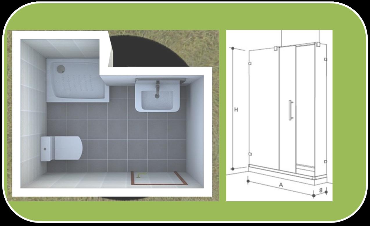 Tamano De Un Baño Con Tina:Baño con Ducha: 6 tipos de mamparas de ducha para 6 baños distintos