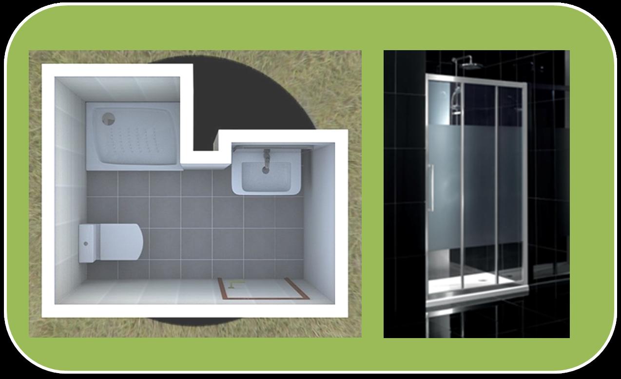Medidas De Un Baño Con Ducha:Baño con Ducha: 6 tipos de mamparas de ducha para 6 baños distintos