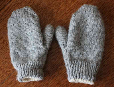 Easy Living The Hard Way Double Thick Mittens