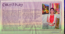 Sunday Inquirer Magazine Features Maia, Oct 5, 2008