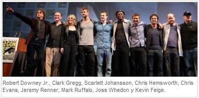 "Whedon director del film ""The Avengers"" Elenco+los+vengadores"