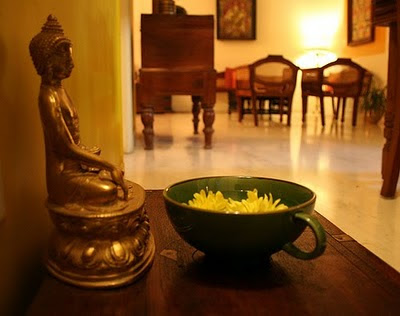 Rang-Decor {Interior Ideas predominantly Indian}: buddha at home...