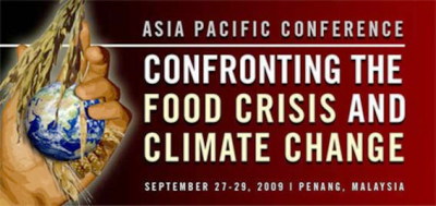 Conference on Confronting the Food Crisis and Climate Change