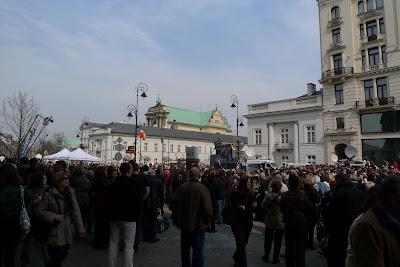 Warszawa wczoraj/Warsaw yesterday