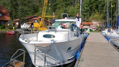 Barką po Mazurach/Mazury region on a barge