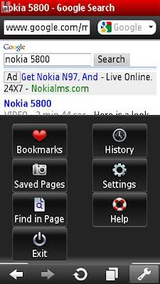 Opera Mini Nokia N97 Mini