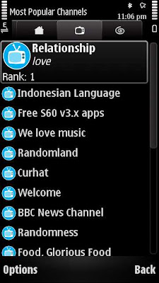 Buddycloud Nokia N97