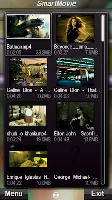 SmartMovie Nokia 5800